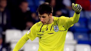 Goalkeeper Kamil Grabara has been discharged from hospital following a head injury (Mike Egerton/PA)
