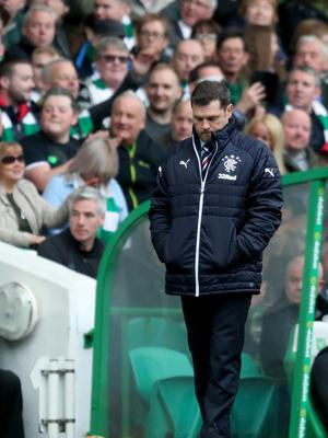 Rangers decision comes just 48 hours on from the club's 5-0 mauling by Celtic