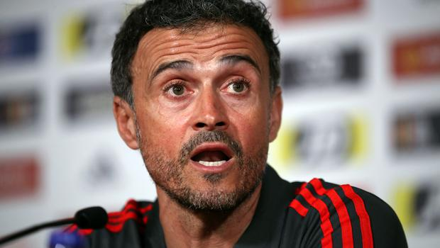 Luis Enrique is to return as Spain manager (Nick Potts/PA)