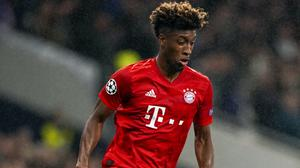 Kingsley Coman, pictured, will miss Bayern Munich's Champions League clash with Chelsea (John Walton/PA)