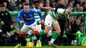 Scott Brown will resume rivalries with Rangers at Ibrox (PA)