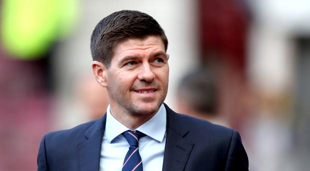 Steven Gerrard is poised to extend his deal with Rangers (Jane Barlow/PA)