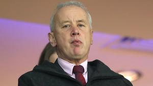 EFL chairman Rick Parry has set out plans for a return to action (Mike Egerton/PA)