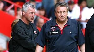 Alan Pardew and Neil Warnock have both pulled off unlikely escapes (Nick Potts/PA)