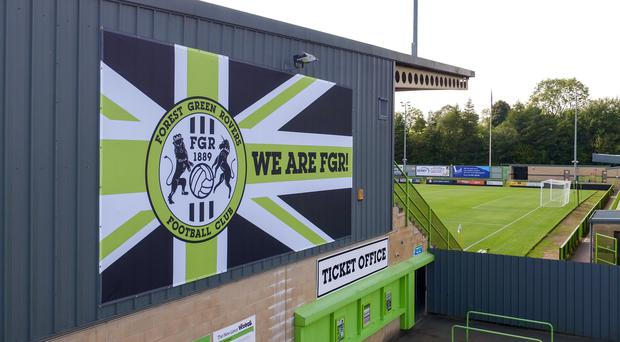 Forest Green Rovers have acted swiftly in dealing with an incident of racist abuse during their game with Scunthorpe (Steve Parsons/PA)