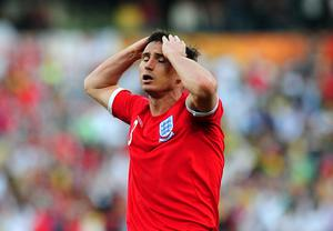 Frank Lampard was denied a clear goal in the 2010 World Cup against Germany (Owen Humphreys/PA)