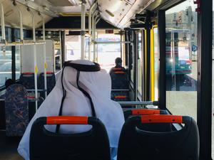 With the metro still being build, even the best must travel by bus (Mark Staniforth)