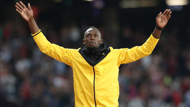 Usain Bolt is the world record holder for the 100 and 200 metres (Martin Rickett/PA)