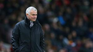 Manchester United manager Jose Mourinho said he was aware of his agent's statement about his future (Barrington Coombs/PA)