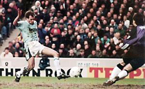 Uwe Rosler was a regular scorer for Manchester City in the early Premier League days (Peter Wilcock/PA)