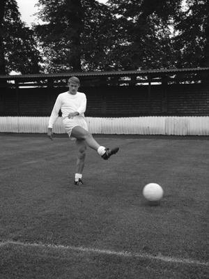 Roger Hunt scored four the last time England reached double figures (PA)