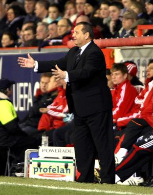 Jimmy Calderwood guided Aberdeen to the last 32 of the UEFA Cup (Simon Price/PA)