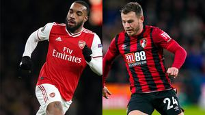 Alexandre Lacazette's Arsenal future has become clouded, while Bournemouth's Ryan Fraser is said to be keen on a move to Tottenham (John Walton/John Walton/PA).