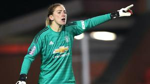 Siobhan Chamberlain has made 27 appearances for Manchester United (Nick Potts/PA)