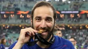 Gonzalo Higuain has travelled to Argentina, according to reports (Bradley Collyer/PA)