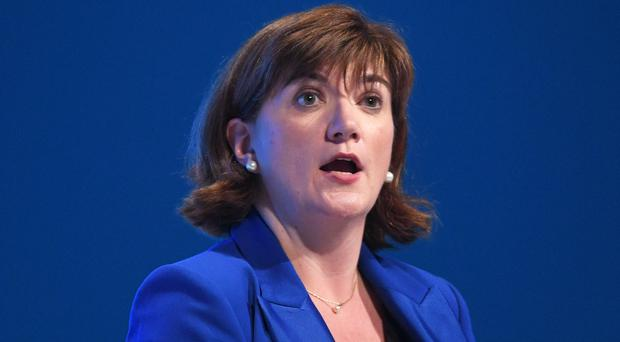 Nicky Morgan has called on the FA to look again at its deal with bet365 (Stefan Rousseau/PA)