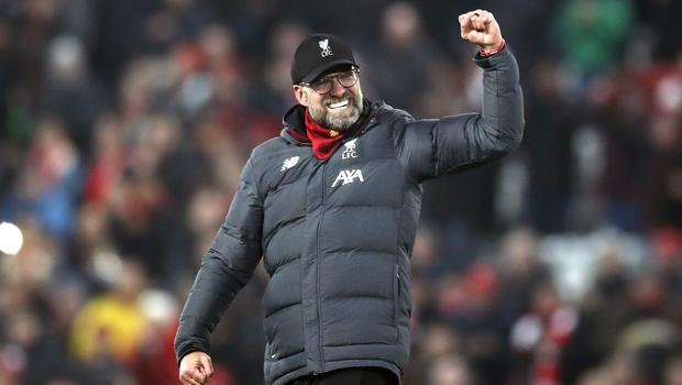 Jurgen Klopp's Liverpool are 16 points clear at the top of the Premier League (Martin Rickett/PA)