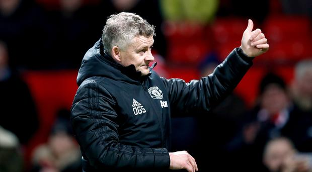 Ole Gunnar Solskjaer is relishing another battle with Manchester City (Martin Rickett/PA)