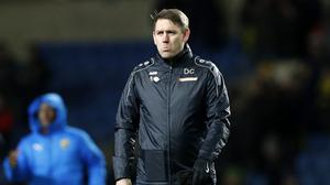 Hartlepool United manager Dave Challinor called for greater clarity moving forward (Darren Staples/PA)