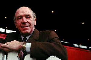 Sir Matt Busby served as Manchester United manager, director and president