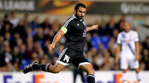 Rashad Sadygov will miss out against Northern Ireland due to a knee problem