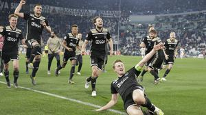 Ajax saw off Real Madrid and Juventus in the knockout stages (Luca Bruno/AP)