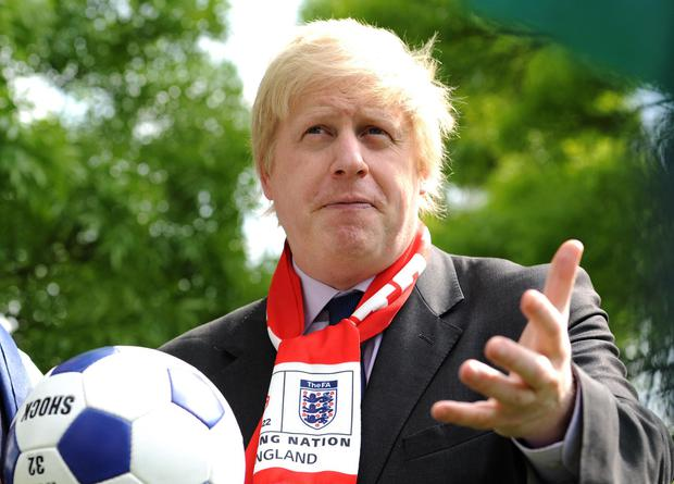 Boris Johnson appears open to the idea of hosting this summer's Euros (Anthony Devlin/PA)