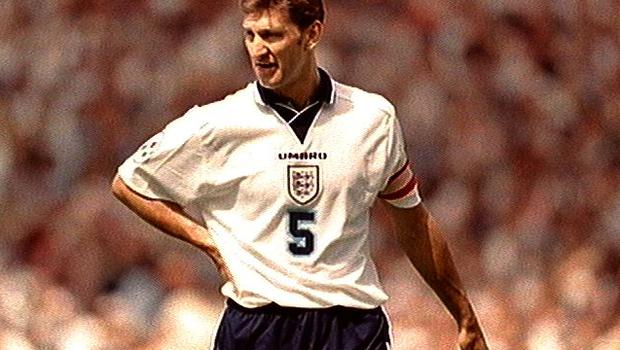 The Euro 96 honour went to Tony Adams