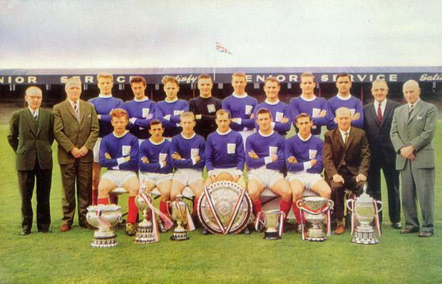 The Linfield clean sweep team of 1961-62