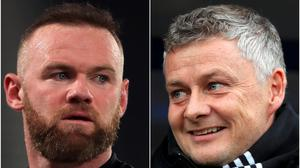 Wayne Rooney and Ole Gunnar Solskjaer were team-mates at Manchester United (Mike Egerton/Simon Cooper/PA).