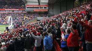The service was due to be the final one at Anfield (Peter Byrne/PA Wire.