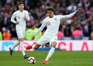Dele Alli will hope to return (Nick Potts/PA)