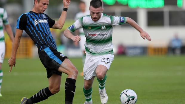 Shamrock Rovers' Jack Byrne will make his first start for Ireland against the All Whites (Brian Lawless/PA)