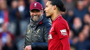 Klopp (left) and Van Dijk (right) have been called the best in the world.