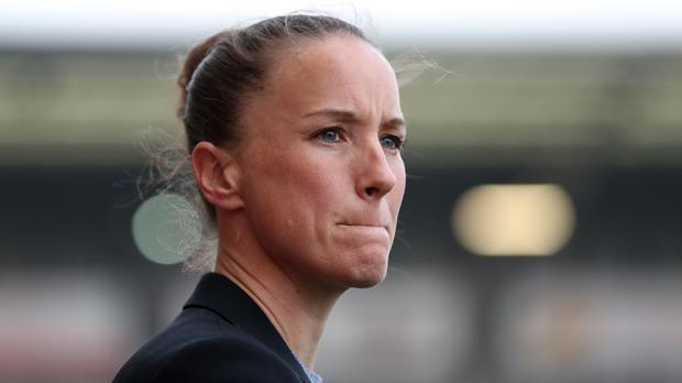 After her successful playing career, it was no surprise to see Casey Stoney lead Manchester United to the Championship title in her first season in management (Bradley Collyer/PA)