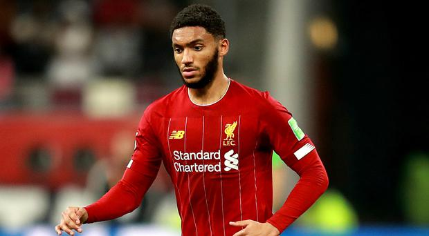 Joe Gomez believes Liverpool will kick on after Club World Cup (Adam Davy/PA)