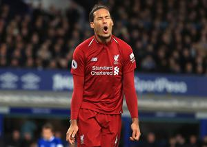 Virgil Van Dijk could prove crucial to Liverpool's chances (Peter Byrne/PA)