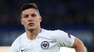 Luka Jovic has returned to his homeland from Spain (Mike Egerton/PA)