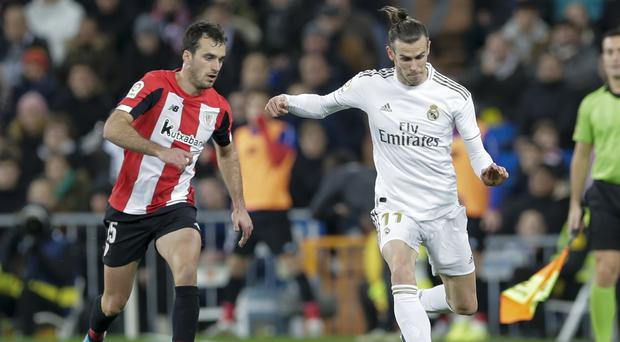 Real Madrid's Gareth Bale was unable to help his side break down Athletic Bilbao and clinch all three points (Paul White/AP/PA)