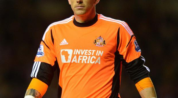 Keiren Westwood has started only three games for Sunderland this season