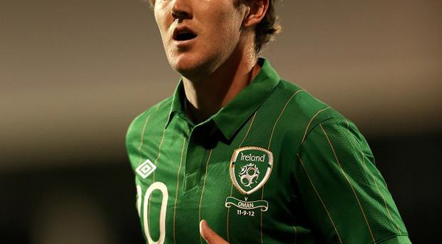 Aiden McGeady is currently sidelined with a knee injury