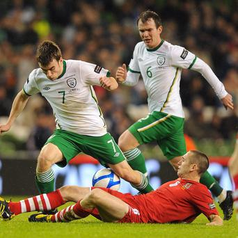 Ireland and Wales last met in February 2011