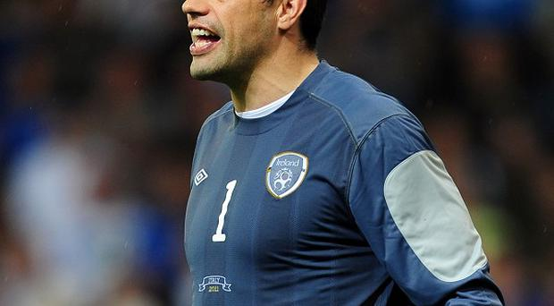 David Forde will make his competitive debut for Ireland at the age of 33