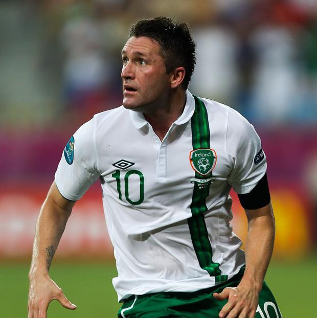 Robbie Keane is waiting to find out the results of a scan