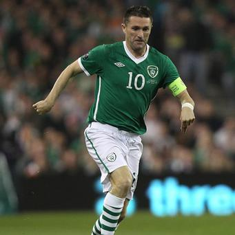 Giovanni Trapattoni believes Robbie Keane, pictured, will be fit to face Austria