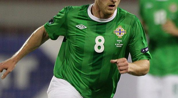 Sammy Clingan is back in contention for Northern Ireland's World Cup qualifier against Israel