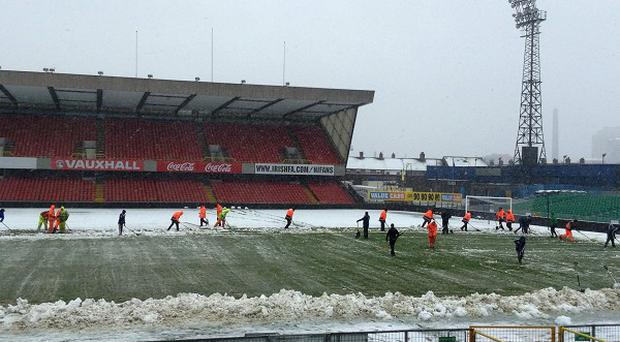 Northern Ireland's clash against Russia at Windsor Park last weekend was postponed