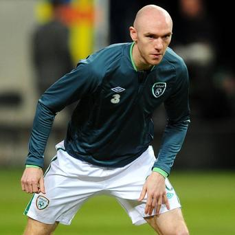 Conor Sammon, pictured, has been asked to fill the void left by Robbie Keane