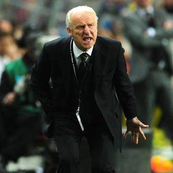 Giovanni Trapattoni will not abandon his tactical beliefs against Austria
