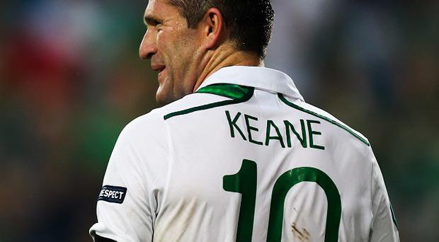 Robbie Keane is set to become the most-capped Irish player in history on Friday